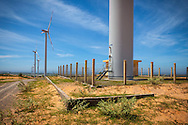Windfarm in Ninh Thuan Province, Vietnam<br /> , Southeast Asia