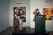 MELANIE CLORE; ALEXANDRA SHULMAN;  JULIET ANNAN, Can we Still Be Friends- by Alexandra Shulman.- Book launch. Sotheby's. London. 28 March 2012.