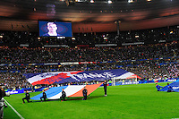Illustration Drapeau France - Supporters France - 26.03.2015 - France / Bresil - Match Amical<br />