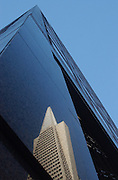 Reflection of the Transamerica building...Photo by Jason Doiy.11-21-03.018-2003