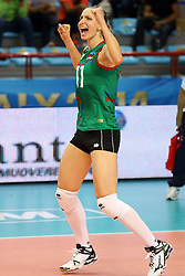 Azerbaijan Katerina Zhidkova celebrates