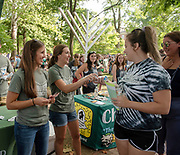 Members of Brookfield Church pass out ice cream during the 2019 Involvement Fair. Photo by Hannah Ruhoff