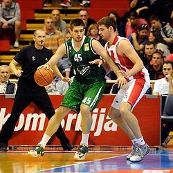 20141011: SRB, Basketball - ABA League 2014/15, KK Crvena Zvezda vs KK Union Olimpija Ljubljana