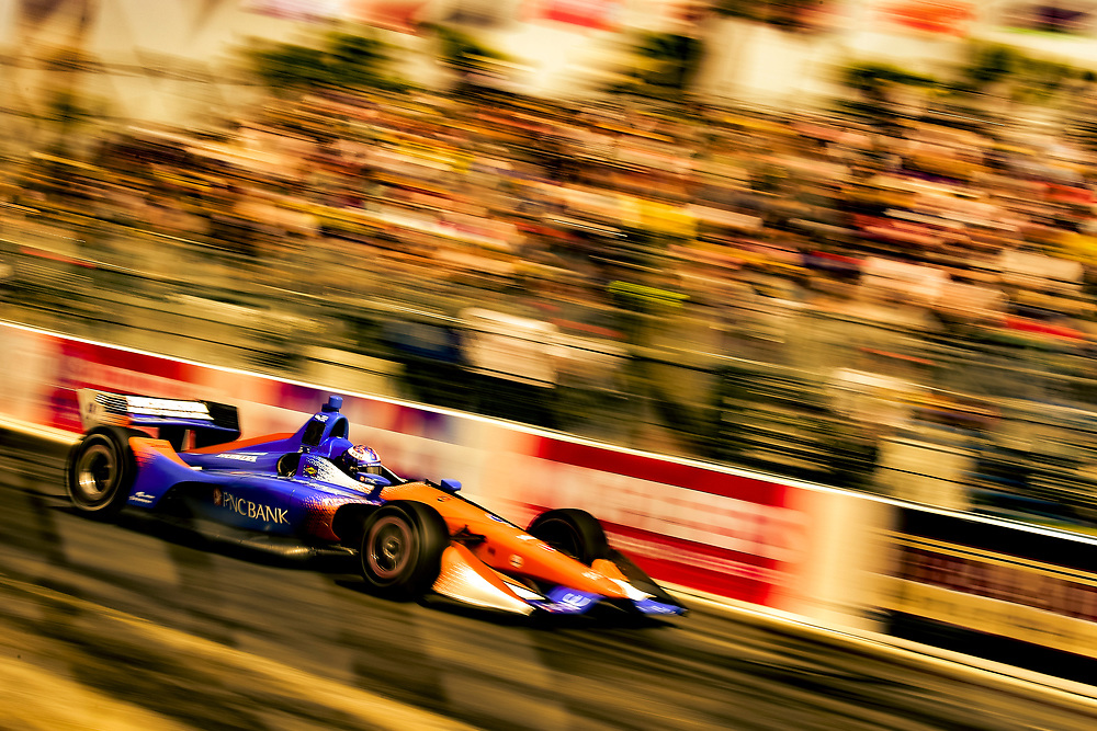 Scott Dixon, Chip Ganassi Racing Honda<br /> Sunday 15 April 2018<br /> Toyota Grand Prix of Long Beach<br /> Verizon IndyCar Series<br /> Streets of Long Beach, California USA<br /> World Copyright: Scott R LePage<br /> LAT Images