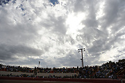 BEA AHBECK/NEWS-SENTINEL<br /> Cloudy skies during the bloodless bullfight during the Our Lady of Fatima Portuguese Festival in Thornton Saturday, Oct. 15, 2016.