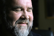 17/4/2004.John Martyn pictured at his home in Kilkenny Ireland..Picture Dylan Vaughan