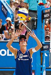 07.08.2011, Klagenfurt, Strandbad, AUT, Beachvolleyball World Tour Grand Slam 2011, im Bild Gregor Schlierenzauer AUT, AUT. EXPA Pictures © 2011, PhotoCredit: EXPA/ Gert Steinthaler
