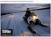 Top Destinations for Snowmobiles<br />