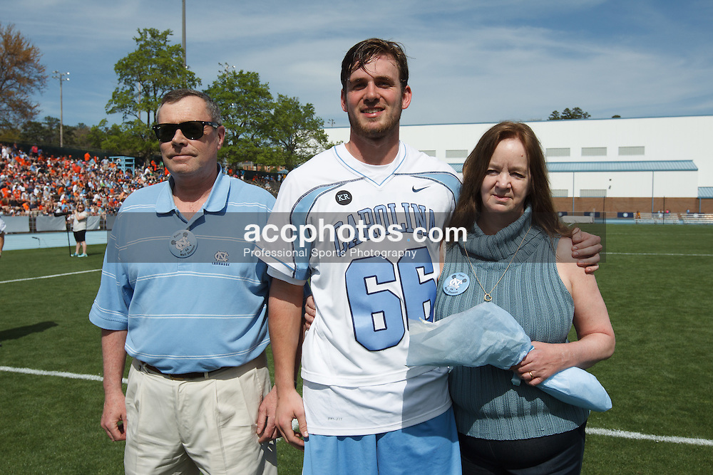 CHAPEL HILL, NC - APRIL 11: Matt Shannon #66 of the North Carolina Tar Heels plays against the Syracuse Orange on April 11, 2015 at Fetzer Field in Chapel Hill, North Carolina. North Carolina won 17-15. (Photo by Peyton Williams/US Lacrosse/Getty Images) *** Local Caption *** Matt Shannon
