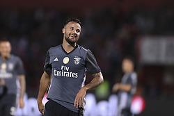 October 22, 2017 - Porto, Aves, Portugal - Benfica's Switzerland forward Haris Seferovic ccelebrates after scoring goal during the Premier League 2017/18 match between CD Aves and SL Benfica, at Estadio do Clube Desportivo das Aves in Aves on October 22, 2017. (Credit Image: © Dpi/NurPhoto via ZUMA Press)