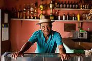 Esmeraldas_MG, Brasil...Dono de um bar na comunidade rural da Laginha, Minas Gerais...The bar owner in Laginha community  in Esmeradas, Minas Gerais...Foto: JOAO MARCOS ROSA / NITRO
