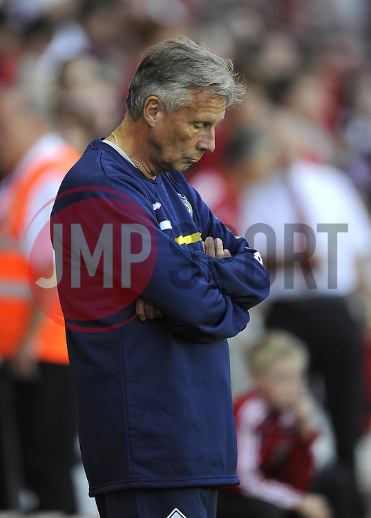 Bristol Rovers Manager, John Ward  - Photo mandatory by-line: Joe Meredith/JMP - Tel: Mobile: 07966 386802 04/09/2013 - SPORT - FOOTBALL -  Ashton Gate - Bristol - Bristol City V Bristol Rovers - Johnstone Paint Trophy - First Round - Bristol Derby