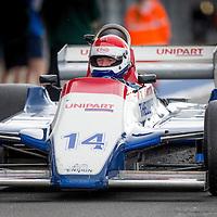 #14, Ensign N180 (1980), Simon Fish (GB), Silverstone Classic 2015, FIA Masters Historic Formula One. 25.07.2015. Silverstone, England, U.K.  Silverstone Classic 2015.