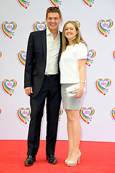 Image ©Licensed to i-Images Picture Agency. 02/06/2014. London, United Kingdom. Matthew Wright attends the Health Lottery tea party at The Savoy Hotel. Picture by Chris Joseph / i-Images