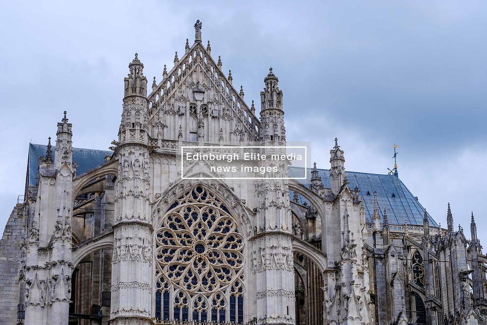 Detail of La Cathédrale Saint-Pierre, Beauvais, France<br /> <br /> (c) Andrew Wilson | Edinburgh Elite media