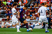 Munir El Haddadi from Spain during the Joan Gamper trophy game between FC Barcelona and CA Boca Juniors in Camp Nou Stadium at Barcelona, on 15 of August of 2018, Spain, Photo Xavier Bonilla / SpainProSportsImages / DPPI / ProSportsImages / DPPI