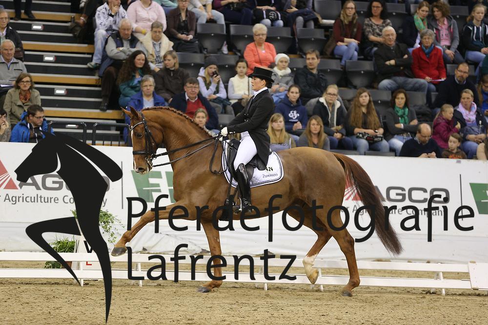Koppelmann, Carola, Deveraux B<br /> Oldenburg - Agravis Cup<br /> Nationale Dressur<br /> © www.sportfotos-lafrentz.de/ Stefan Lafrentz