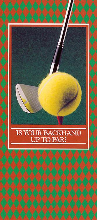 Still-life, studio, product, photography, Larry Gatz, golf, tennis, corporate brouchure