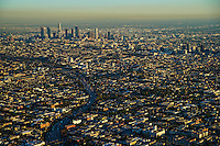 City of Los Angeles & Hollywood Freeway