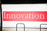 Innovation' written on wall