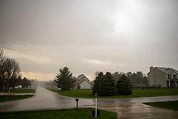 Lightning near WhiteTail Ridge north of Heyworth Illinois during a spring thunderstorm