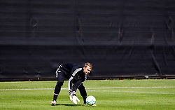 18.05.2012, Trainingsgelaende FC Bayern, Muenchen, GER, UEFA CL, Finale, Vorberichte, Training FC Bayern, im Bild FC Bayern Munchen's goalkeeper Manuel Neuer during the practice session of FC Bayern, preliminary reports for the UEFA CL final at training complex in Sabener Strasse, Munich, Germany on 2012/05/18. EXPA Pictures © 2012, PhotoCredit: EXPA/ Propagandaphoto/ Vegard Grott..***** ATTENTION - OUT OF ENG, GBR, UK *****