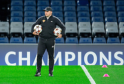 Marko Borko, assistant coach during practice session of NK Maribor 1 day before UEFA Champions League 2014/15 Match between FC Chelsea and NK Maribor, SLO, on October 20, 2014 in Stamford Bridge Stadium, London, Great Britain. Photo by Vid Ponikvar / Sportida.com