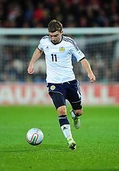 Scotland's James Morrison (West Brom) - Photo mandatory by-line: Joe Meredith/JMP  - Tel: Mobile:07966 386802 12/10/2012 - Wales v Scotland - SPORT - FOOTBALL - World Cup Qualifier -  Cardiff   - Cardiff City Stadium -