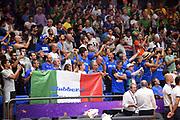 tifosi italia<br /> Nazionale Italiana Maschile Senior<br /> Eurobasket 2017 - Group Phase<br /> Lituania Italia Lithuania Italy<br /> FIP 2017<br /> Tel Aviv, 03/09/2017<br /> Foto M.Ceretti / Ciamillo - Castoria