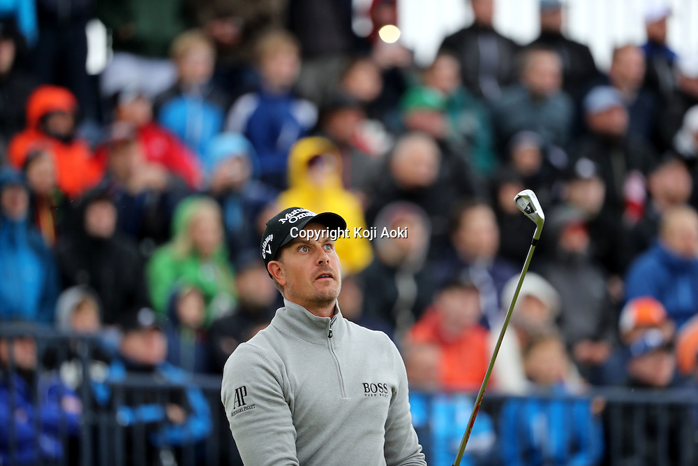 Henrik Stenson (SWE),<br /> JULY 16, 2016 - Golf :<br /> Henrik Stenson of Sweden tees off on the 14th hole<br /> during the third round of the 145th British Open Championship<br /> at the Old Course, Royal Troon Golf Club in South Ayrshire, Scotland.<br /> (Photo by Koji Aoki/AFLO SPORT)