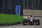 September 18-21, 2014 : Singapore Formula One Grand Prix - Romain Grosjean (FRA), Lotus-Renault