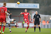 Jimmy Smith during the EFL Sky Bet League 2 match between Crawley Town and Grimsby Town FC at the Checkatrade.com Stadium, Crawley, England on 26 November 2016. Photo by Jarrod Moore.