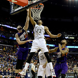 12-30-2014 Phoenix Suns at New Orleans Pelicans