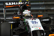 May 22, 2014: Monaco Grand Prix: Nico Hulkenberg (GER), Force India-Mercedes