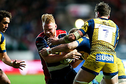 Will Hurrell of Bristol Rugby in action  - Rogan Thomson/JMP - 26/12/2016 - RUGBY UNION - Ashton Gate Stadium - Bristol, England - Bristol Rugby v Worcester Warriors - Aviva Premiership Boxing Day Clash.
