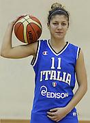 DESCRIZIONE : Roma Acqua Acetosa ritiro collegiale amichevole Nazionale Italia Donne<br /> GIOCATORE : Stella Panella<br /> CATEGORIA : ritratto<br /> SQUADRA : Nazionale Italia femminile donne FIP<br /> EVENTO : amichevole Italia A Italia B<br /> GARA : <br /> DATA : 17/01/2012<br /> SPORT : Pallacanestro<br /> AUTORE : Agenzia Ciamillo-Castoria/ElioCastoria<br /> Galleria : Fip Nazionali 2011 <br /> Fotonotizia : Roma Acqua Acetosa ritiro collegiale amichevole Nazionale Italia Donne