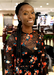"Supermodel, DJ and presenter Eunice Olumide MBE launches her new book ""How To Get Into Fashion"" at Waterstones in her home city of Edinburgh.<br /> <br /> Eunice was born in Wester Hailes<br /> <br /> Pictured: Eunice Olumide MBE<br /> <br /> Alex Todd 