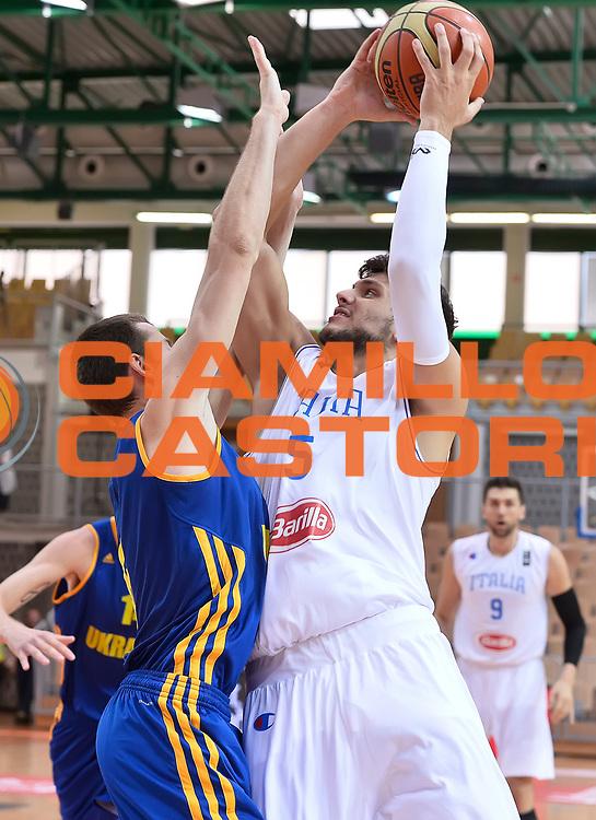 DESCRIZIONE : Capodistria Koper Nazionale Italia Uomini Adecco Cup Italia Italy Ucraina Ukraine<br /> GIOCATORE : Alessandro Gentile<br /> CATEGORIA : tiro penetrazione<br /> SQUADRA : Italia Italy<br /> EVENTO : Adecco Cup<br /> GARA : Italia Italy Ucraina Ukraine<br /> DATA : 22/08/2015<br /> SPORT : Pallacanestro<br /> AUTORE : Agenzia Ciamillo-Castoria/R.Morgano<br /> Galleria : FIP Nazionali 2015<br /> Fotonotizia : Capodistria Koper Nazionale Italia Uomini Adecco Cup Italia Italy Ucraina Ukraine
