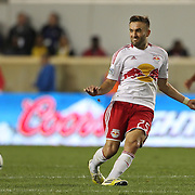 Brandon Barklage,  New York Red Bulls, in action during the New York Red Bulls V Toronto FC  Major League Soccer regular season match at Red Bull Arena, Harrison. New Jersey. USA. 29th September 2012. Photo Tim Clayton