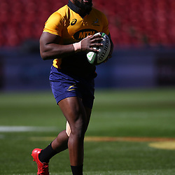 Tendai Mtawarira of South Africa during the South African - Springbok Captain's Run at Emirates Airline Park,<br /> Johannesburg .South Africa. 08,06,2018 Photo by (Steve Haag Sports)
