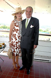 LORD & LADY BELL at the 4th day of the Glorious Goodwood racing festival 2007 held at Goodwood Racecourse, West Sussex on 3rd August 2007.<br />