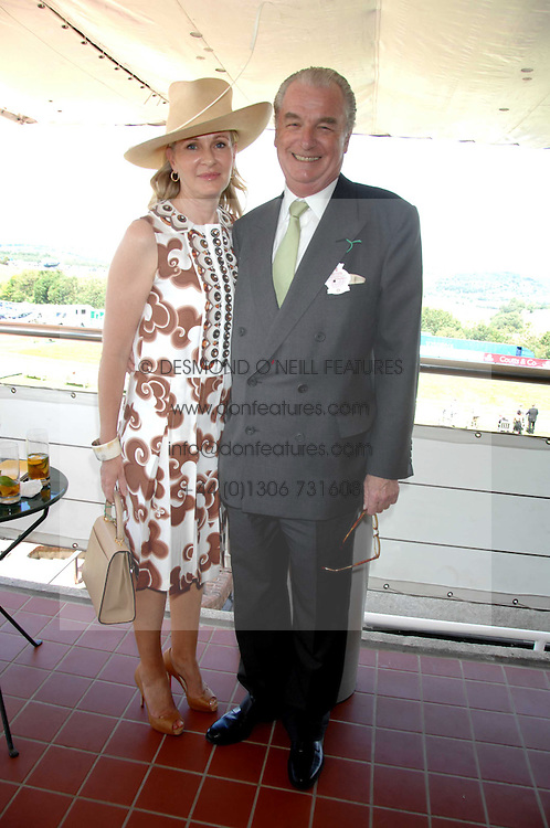 LORD & LADY BELL at the 4th day of the Glorious Goodwood racing festival 2007 held at Goodwood Racecourse, West Sussex on 3rd August 2007.<br /><br />NON EXCLUSIVE - WORLD RIGHTS