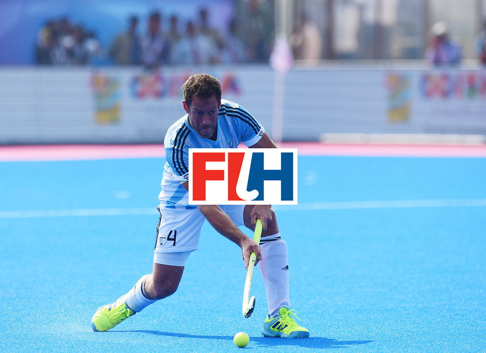 Odisha Men's Hockey World League Final Bhubaneswar 2017<br /> Match id:03<br /> Argentina v Belgium<br /> Foto: Juan Gilardi (Arg) <br /> WORLDSPORTPICS COPYRIGHT FRANK UIJLENBROEK