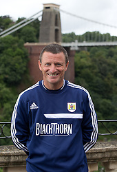 Bristol City under-21 coach Mark O'Connor - Photo mandatory by-line: Kieran McManus/JMP - Tel: Mobile: 07966 386802 31/07/2013 - SPORT - FOOTBALL - Avon Gorge Hotel - Clifton Suspension bridge - Bristol -  Team Photo