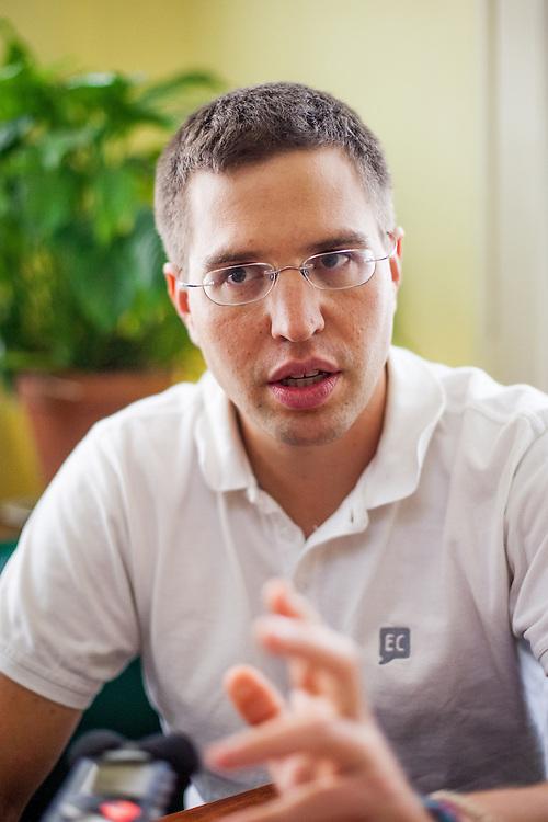 "Rechtsanwalt und Programm Direktor des ""Environmental Law Service"" in Brünn - Pavel Franc."