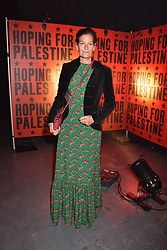 """Venetia Scott at """"Hoping For Palestine"""" Benefit Concert For Palestinian Refugee Children held at The Roundhouse, Chalk Farm Road, England. 04 June 2018. <br /> Photo by Dominic O'Neill/SilverHub 0203 174 1069/ 07711972644 - Editors@silverhubmedia.com"""