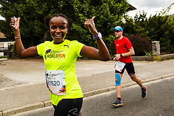 Wings for Life world marathon in Ljubljana, Slovenia on 7th of May, 2017 .Photo by Grega Valancic / Sportida