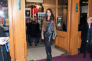Tamara Ecclestone, Press night of Cirque du Soleil's new show 'Totem' at The Royal Albert Hall.  London. January 5, 2011<br /> <br /> -DO NOT ARCHIVE-© Copyright Photograph by Dafydd Jones. 248 Clapham Rd. London SW9 0PZ. Tel 0207 820 0771. www.dafjones.com.