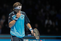 25.11.2010, Marriott Country Hall, London, ENG, ATP World Tour Finals, im Bild Ferrer, David (ESP), EXPA/ InsideFoto/ Semedia+++++ ATTENTION - FOR AUSTRIA/AUT, SLOVENIA/SLO, SERBIA/SRB an CROATIA/CRO CLIENT ONLY +++++