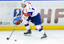 Gregor Koblar of Slovenia during Friendly Ice-hockey match between National teams of Slovenia and Italy on April 5, 2013 in Ice Arena Tabor, Maribor, Slovenia. (Photo By Vid Ponikvar / Sportida)